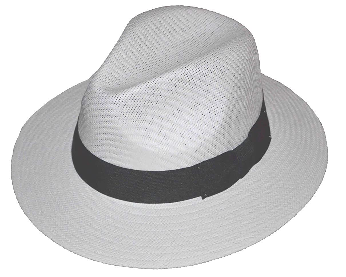 JKO Panama Straw Hat White