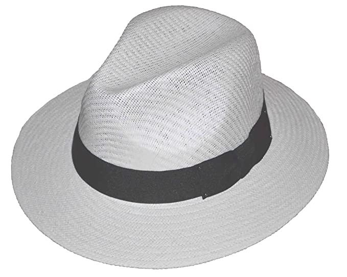 JKO Panama Straw Hat White at Amazon Men s Clothing store  9445d5c6af93