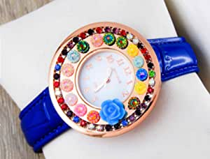 MICAIAH Casual Watch For Girls Analog Leather - 1102