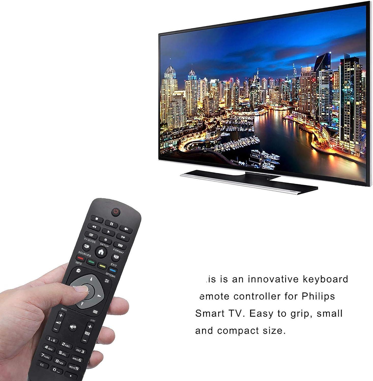 Vbestlife Reemplazo Universal del Controlador,Control Remoto para Philips LCD LED Inteligente TV
