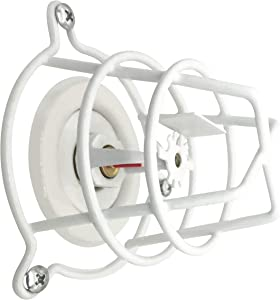 """Happy Tree (2 Pack) White Fire Sprinkler Head Guard Cover for Both 1/2"""" & 3/4"""" Fire Head for Protecting Flush Mount & Side Wall & Pendent Head Semi - Recessed Sprinkler Head Cage"""