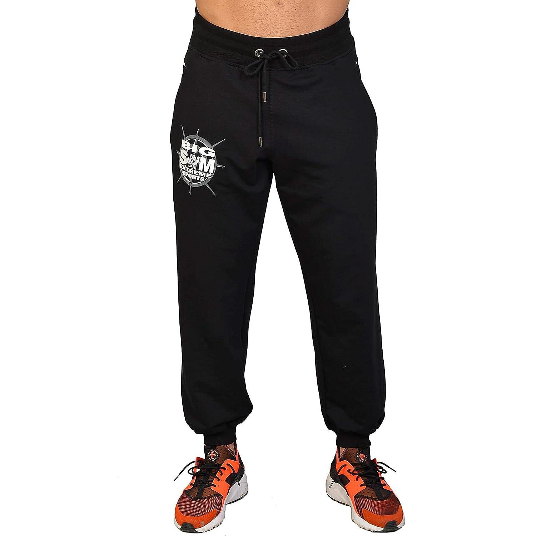 BIG SM EXTREME SPORTSWEAR Herren Sporthose Jogginghose Trainingshose Bodyhose 1112
