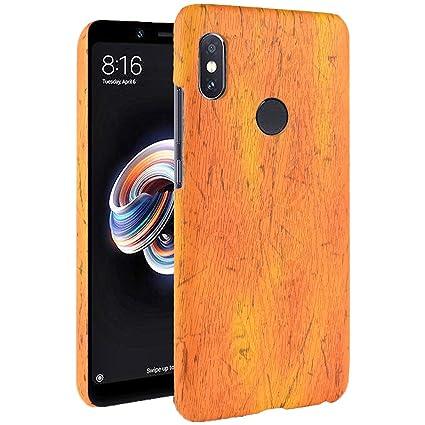 Amazon.com: SDB Xiaomi MI A2 - Carcasa de madera con ...