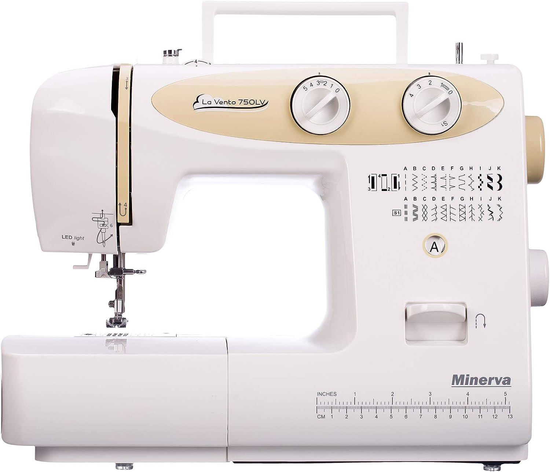Minerva La Vento 750LV máquina de Coser: Amazon.es: Hogar