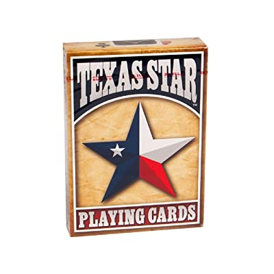 Bicycle Texas Star Deck Texas Star Playing Cards: Sports & Outdoors