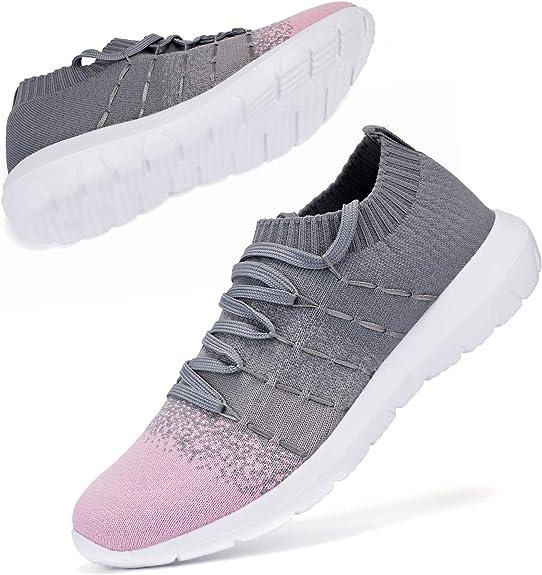 BEATIFIC BEE Fashion Sneakers Lightweight Breathable Sports Shoes Men Women Walking Shoes