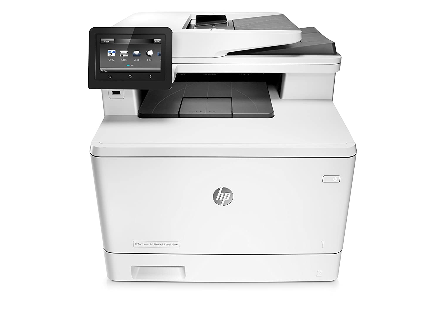 HP LaserJet Pro M477fnw All-in-One Wireless Color Laser Printer with Built-in Ethernet, Amazon Dash Replenishment ready (CF377A)