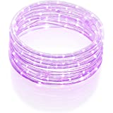 All Occasions Indoor Outdoor LED 16 FT Total Rope Light Home Commercial Christmas Decoration, Pink