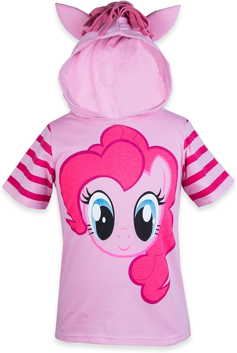 My Little Pony Hooded Shirt - Rainbow Dash, Twilight Sparkle, Pinky Pie - Girls