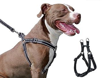 Arnés para perros, TOPET Ajustable No Tirar del arnés de perro ...