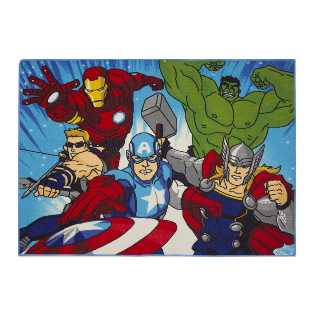 Disney Action Avengers Children's Rug 133 x 95 cm GUIZMAX