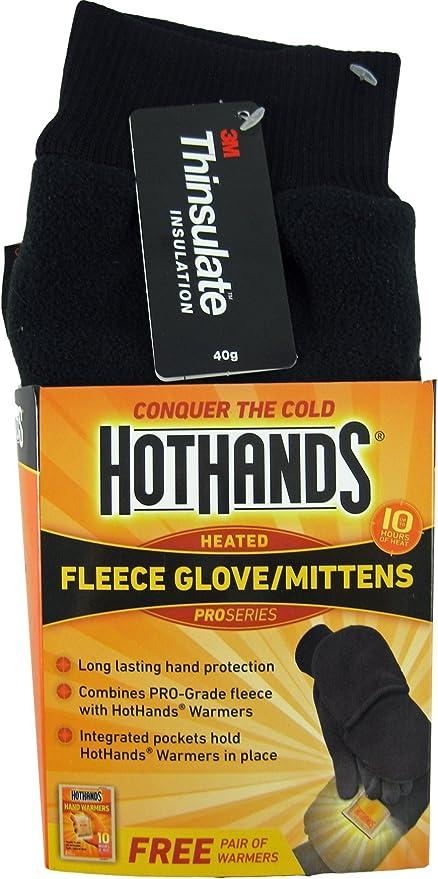 Mittens HotHands Heated Fleece Glove