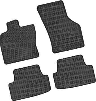 Bär Afc Au05552 Gummimatten Auto Fußmatten Schwarz Erhöhter Rand Set 4 Teilig Passgenau Für Modell Siehe Details Auto