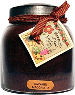 product image for A Cheerful Giver Caramel Macchiato Papa Jar Candle, 34-Ounce, 34oz