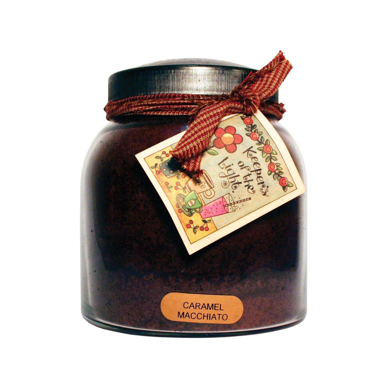 22-Ounce A Cheerful Giver Caramel Macchiato Mama Jar Candle