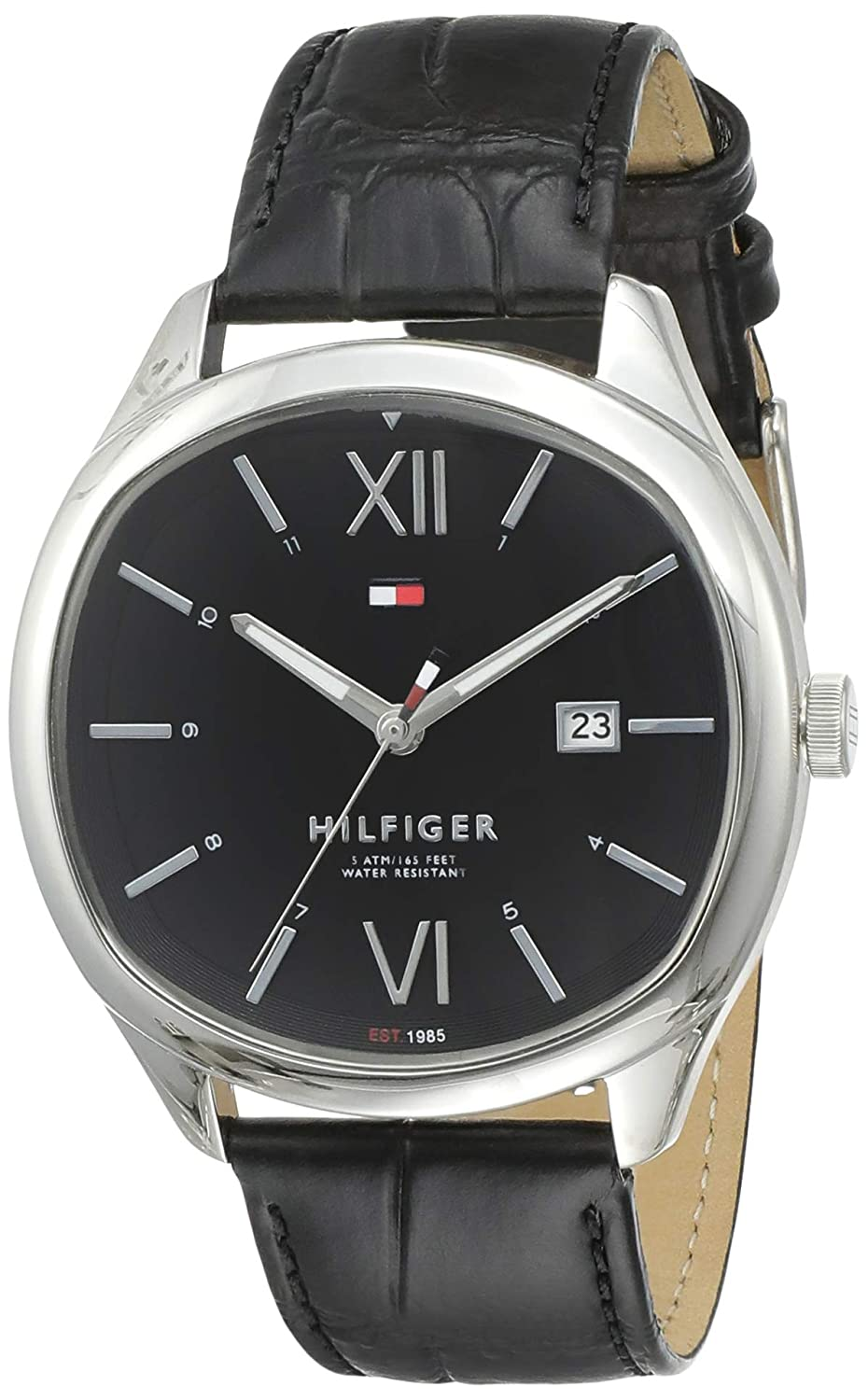 Buy Tommy Hilfiger Analog Black Dial Men S Watch Th1710365