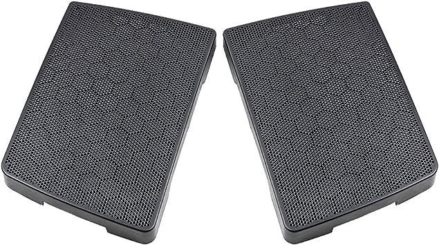 """6X9/"""" Saddlebag Lid Speaker Grills Covers For Harley Electra Street Road Glide"""