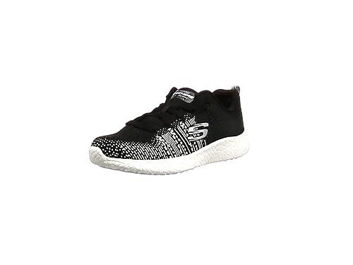 Skechers Burst Ellipse, Chaussures de Fitness femme, Noir