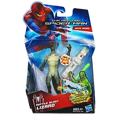 Hasbro The Amazing Spider-Man Movie Action Figure, Reptile Blast Lizard, 3.75 Inches: Toys & Games