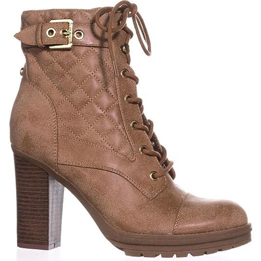 Boots Clothing, Shoes & Accessories G By Guess Frauen Meera2 Geschlossener Zeh Combat Stiefel Schwarz Groesse 9 Us /