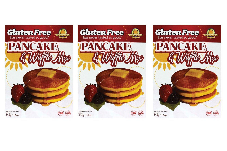 Kinnikinnick | Gluten Free Pancake & Waffle Mix 16 Oz [3 Pack] by Kinnikinnick