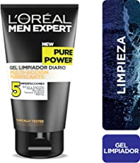 Gel limpiador anti acné, Men Expert L'Oreal Paris, 150 ml