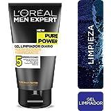 Gel limpiador anti acné, Men Expert L'Oreal Paris, 150 ml