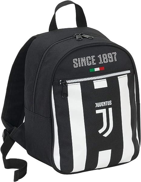 JUVENTUS Scuola e tempo libero 10 LT Zaino small Bianco Nero prodotto ufficiale