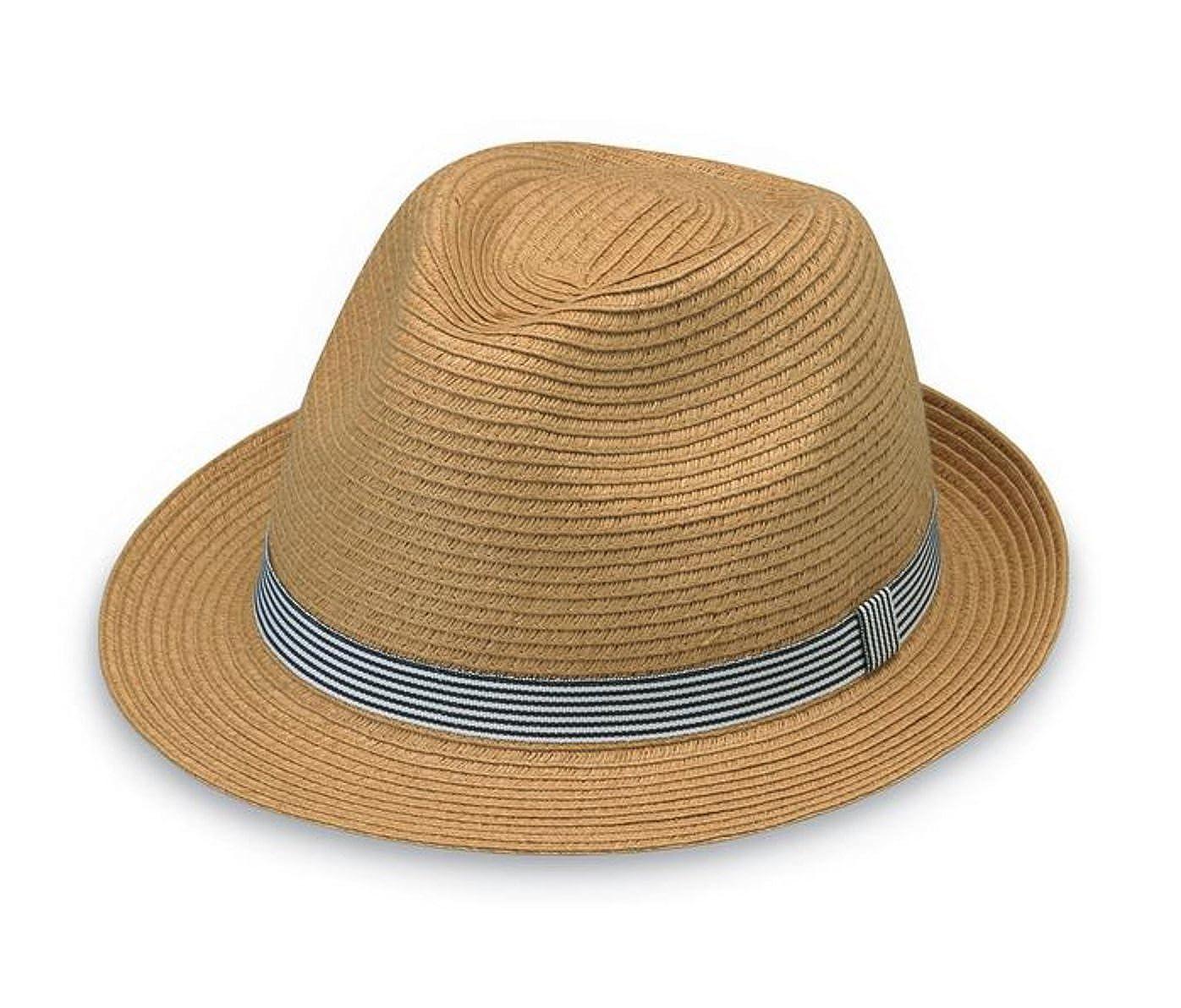 Wallaroo Hat Company Trilogy Trilby - Natural - Unisex 381212987e26