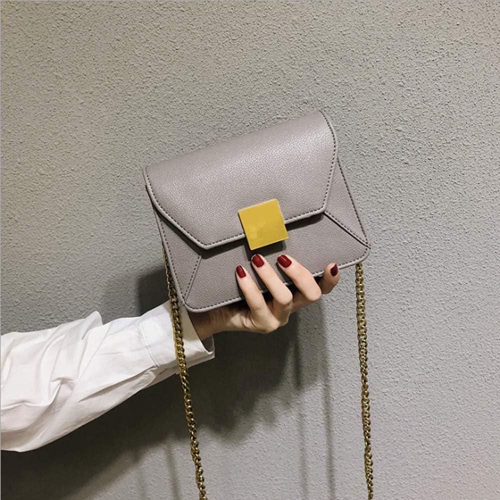 shixiaodan Bolso pequeño Femenino versátil Extranjero pequeño Bolso Cuadrado Textura Casual Moda Solo Hombro Messenger Bag Femenino