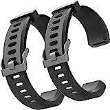 ZURURU Veryfitpro ID115Plus HR Replacement Bands for Veryfit Pro ID115Plus HR Fitness Tracker Smart Watch