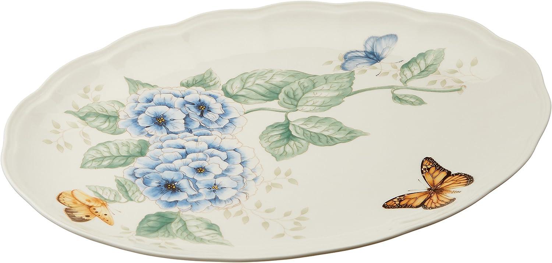 Lenox Butterfly Meadow 16-Inch Platter, White - 6084289