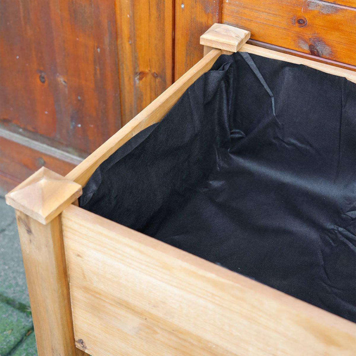 Dehner Hochbeet Noppenfolie Ca 500 X 100 Cm Kunststoff Schwarz