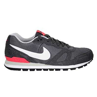 Nike Air Waffle Trainer, Unisex Adults Men's Air Waffle Trainer Footwear BlackGreyRedWhite, Size 10
