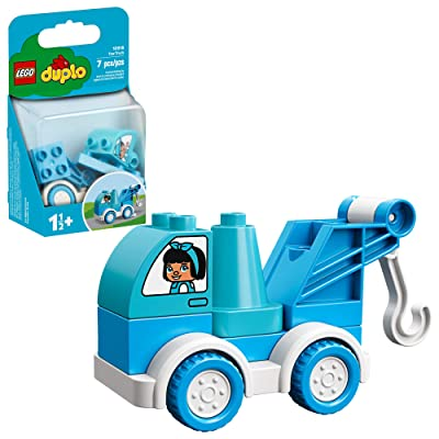 LEGO DUPLO My First Tow Truck 10918 Educational Tow Truck Toy, Great Gift for Kids Ages 18 Months and up, New 2020 (6 Pieces): Toys & Games [5Bkhe0706486]