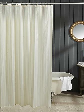 Obsessions Hilton Shower Curtain Whisper White 180 X 230 cm