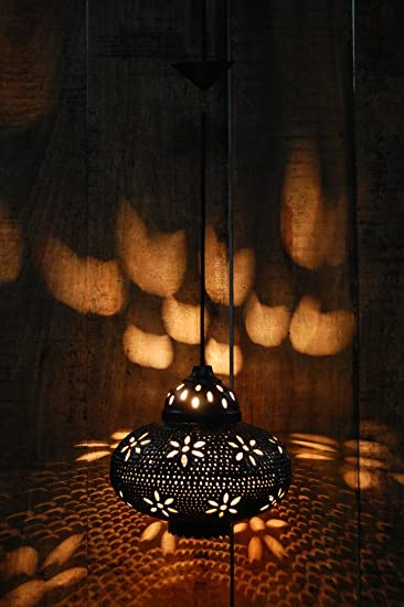 Logam Arabian Dome Hanging Light Pendant Lights at amazon