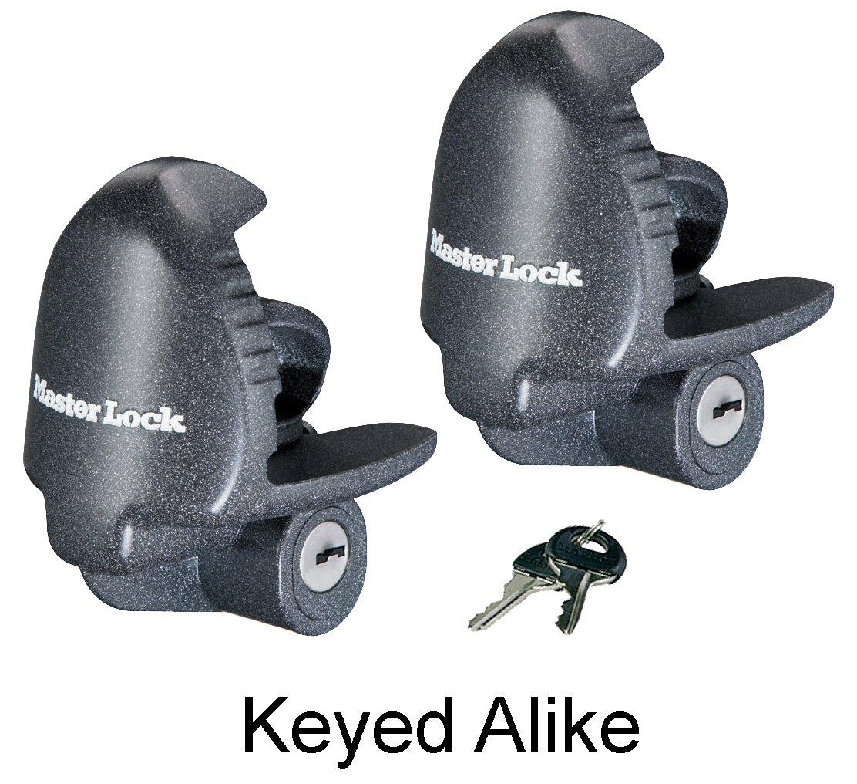 Master Lock - (2 Keyed Alike Universal Trailer Coupler Locks 379KA-2