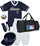 Franklin Houston Astros Baseball Youth Uniform Set Ages 7-10 Kids (Medium Ages 7 to 10)