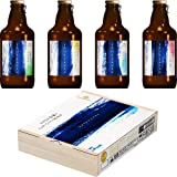 【Amazon限定ブランド】[ビールギフト] サッポロ SIQOA Innovative Brewer 日本産フレーバーホップ4種詰め合わせ [ 305ml×8本 ] [ギフトBox入り]