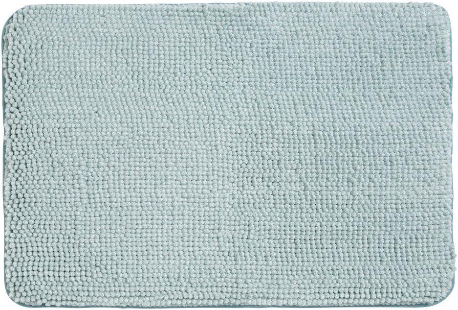 InterDesign Heathered Frizz Comfort Mat - Water Blue