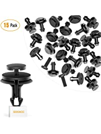 GOOACC GM Front Air Deflector Retainers Clips 15733971 for GM Chevrolet 15733971-15PCS