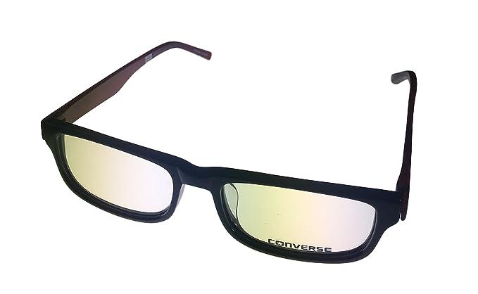 2275666862d2 Amazon.com: CONVERSE Eyeglasses Q009 Black 51MM: Clothing