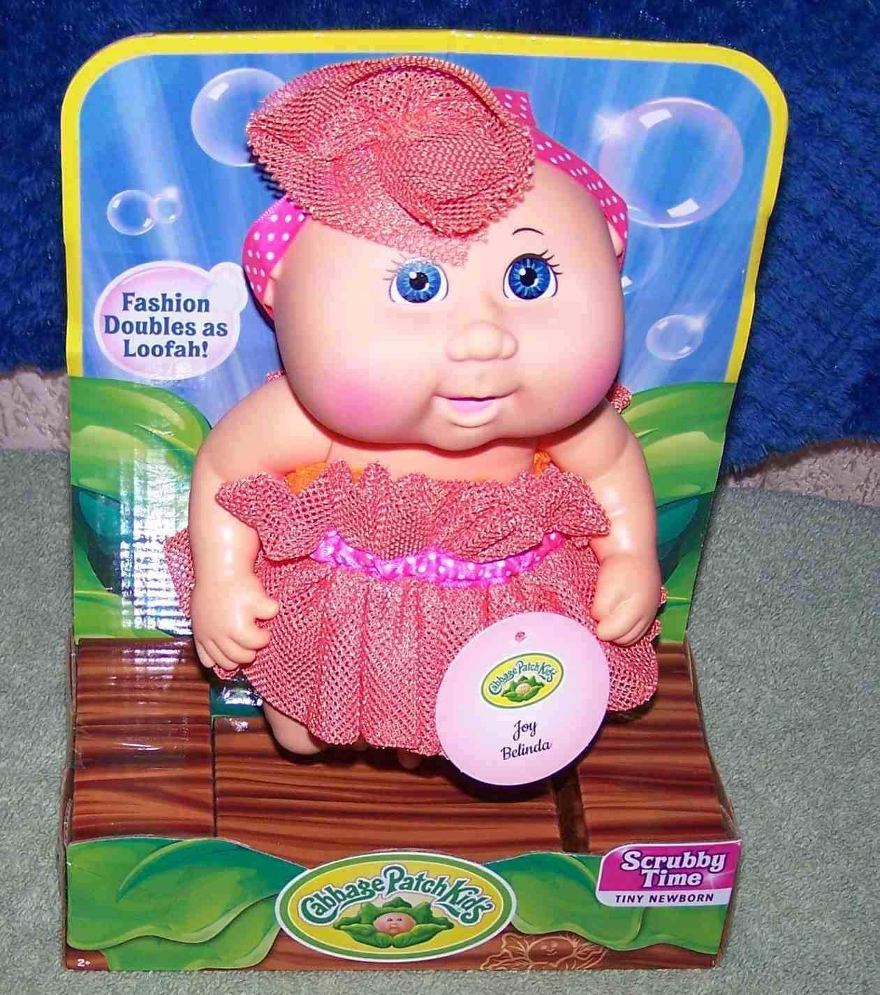Cabbage Patch Kids Scrubby Time Tiny Newborn Doll 10