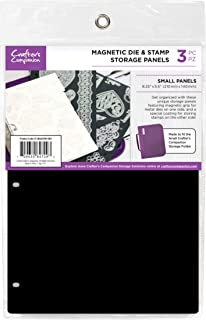 Tabbed 4//Pkg for Clear Rubber Acrylic Stamps with Foam Sheet Set Includes Mini Craft Accessories Pouch 1 Pc Stamp Storage Panels Cling | Both Items 8.5 inch x 11 inch