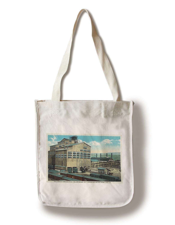 ウィルクスバリ – Trains Lehighで、およびwilkes-barre石炭会社 Canvas Tote Bag LANT-34427-TT B01841IZAI  Canvas Tote Bag