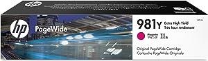 HP 981Y Extra High Yield Magenta Original PageWide Cartridge (L0R14A)