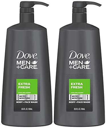 Amazon Com Dove Men Care Body Wash Extra Fresh 23 5 Ounce Pack Of 2 Beauty