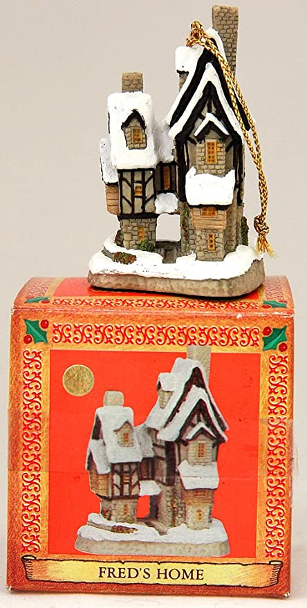 amazon com david winter cottages christmas ornament fred s home rh amazon com  fred meyer outdoor christmas decorations