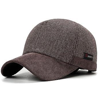 Gorras de béisbol | Unisex | Invierno Frio a Prueba de algodón de ...